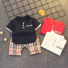 Toddler Baby Clothes Boys Outfits Tops Pants 2Pcs Kids Summer Clothing Suits
