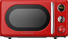 Galanz Microwave Oven LED Lighting Pull Handle Design Child Lock 0.7 Cu.Ft