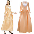 Victorian Dress Hamilton Angelica Medieval Cosplay Costume Vintage Ball Gown