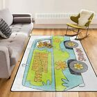 Scooby Doo The Machine Area Rugs For Living room│Kids room│Comfortable Carpet