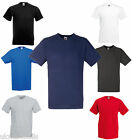 V-NECK FRUIT OF THE LOOM MENS T SHIRT S-XXL 7 COLOURS