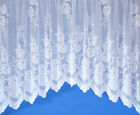 SALLY JARDINIERE NET CURTAIN IN WHITE