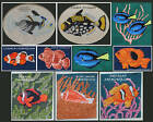 SALT WATER FISH COUNTED CROSS STITCH PATTERNS