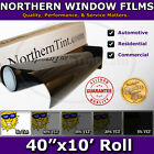 Window Tint UV Solar Film 40x10 Roll car home office D