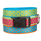 EAST SIDE COLLECTION BRITE POLKA DOT DOG COLLARS GREEN