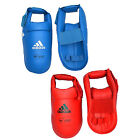 NEW ADIDAS MARTIAL ARTS TRAINING BOXING PAD WKF FOOT PROTECTOR INSTEP SHIN GUARD