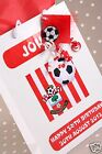 Personalised Gift Bag Football Theme- Any team/colours