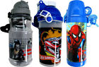 Childrens Boys Plastic Lunch Bags Boxes Drink Bottles