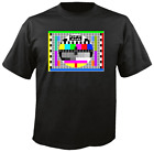 Tee Shirt New Unisex  TEST PATTERN-OFF AIR. Quality cotton T Shirt.
