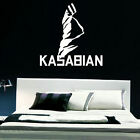 KASABIAN LARGE BEDROOM LOUNGE WALL MURAL ART STICKER GRAPHIC DECAL MATT VINYL