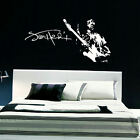 JIMI HENDRIX LARGE BEDROOM WALL MURAL ART STICKER STENCIL GIANT DECAL MATT VINYL