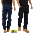 Mens Classic Workwear Trousers By SITE KING Size 28 to 56  WORK CASUAL - 001