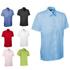 Mens Classic Short Sleeve Easy Care Formal Shirts Size 14.5 to 19.5 S to 3XL 710
