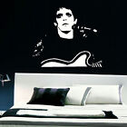 LARGE LOU REED KITCHEN BEDROOM WALL MURAL ART STICKER GRAPHIC DECAL MATT VINYL