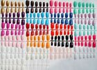 Coloured Short/Medium Full Cover Flexi False Nails -  *UK Seller*