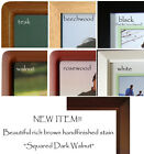 FRAMES Picture PHOTO Solid WOOD Your CHOICE of Colors & Sizes 3.5x5 4x6 5x7 8x10