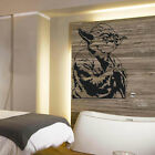 LARGE YODA STAR WARS CHILDRENS BEDROOM WALL MURAL STICKER TRANSFER VINYL DECAL