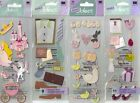 A TOUCH OF JOLEE'S Assorted STICKERS 3D Choice SCRAPBOOKING Holiday School Beach