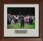 Tiger Woods in the Rough 2002 US Open Framed Photo 11 x 14