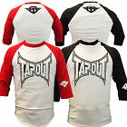 Tapout Rogan Three Quarter Sleeve MMA UFC Cage Fighter T Shirt Mens New