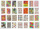 Huge Collection FLOWERS bugs GARDEN STICKERS Scrapbooking Lot to choose from!!