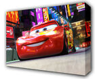 LIGHTNING MCQUEEN CARS - GICLEE CANVAS ART