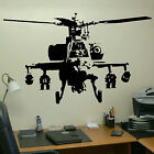 XTRA LARGE BANKSY HELICOPTER WALL ART BEDROOM MURAL GIANT STICKER TRANSFER DECAL