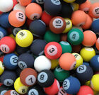 Billiard / Pool Style Rubber Bouncy Super Balls, Fun Gift, Party Favors
