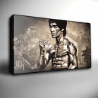 BRUCE LEE MONTAGE - GICLEE CANVAS ART Choose your size
