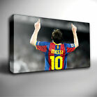 LIONEL MESSI BARCELONA FC - GICLEE CANVAS WALL ART PRINT *Choose your size