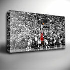 MICHAEL JORDAN BASKETBALL - GICLEE CANVAS ART