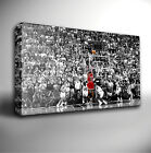 MICHAEL JORDAN BASKETBALL - GICLEE CANVAS ART *Choose your size