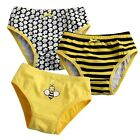 "NEW Vaenait Baby Girl 3 pack of Underwear Briefs Pantie Set "" Honey Bee Set """