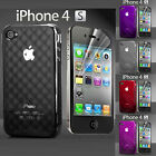 iPhone 4s Air Bubble Series Protection Case Cover With 2 Screen Protector