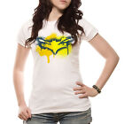 BATMAN DARK KNIGHT RISES MASK SPRAY Womens T Shirt  S M L XL WHITE Official