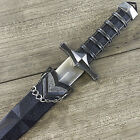 "11.5"" DARK ASSASSIN STAINLESS STEEL MEDIEVAL SHORT SWORD DAGGER w SHEATH"