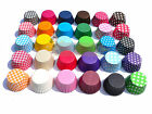 60 cupcake/muffin cases, Choice of 10 colours, non fade, liners, paper, quality