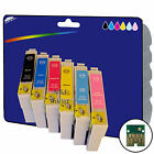 6 Inks - non-original Printer Ink Cartridges for Epson E0801-E0806 Range