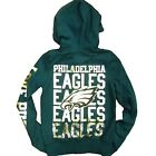 Victoria's Secret Hoodie Philadelphia Eagles Zip Up Bling Sequins NFL V033 V041