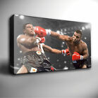 MIKE TYSON BOXING ICON - GICLEE CANVAS ART PRINT *Choose your size