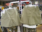 NEW Dickies Girls Khaki 3 Buckle Skort Regular and Plus Sizes School Uniform