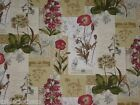 WILD FLOWER WIPE CLEAN PVC OILCLOTH WIPEABLE TABLECLOTH CO click for sizes