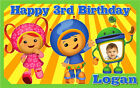 Team Umizoomi Birthday Banner Personalized Custom Design Indoor Outdoor Party