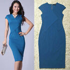 Career Women Wiggle pencil Cocktail Party Summer Bodycon Dress Summer New Y522