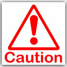 1 / 6 Caution Sticker-Health and Safety-Danger-Red Warning Symbol External Signs