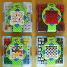 ASSORTED PEG TRAVEL GAMES DRAUGHTS, SNAKES & LADDERS, LUDO & CHESS