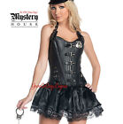 leather cop costume - POLICE WOMAN Costume SEXY COP Faux Leather + Skirt & Cuffs by MYSTERY HOUSE