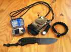 Ka-Bar Becker BK11 / BK14 NECK KNIFE SURVIVAL KIT - bushcraft paracord survival