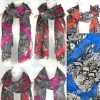 SNAKE REPTILE SKIN PARTY LARGE BEAUTIFUL SOFT NEW WOMEN SCARF SHAWL PASHMINA