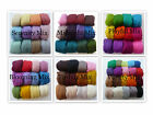 Felting Wool - 300g Merino Wool 21 Micron Tops / Roving - Wool Mix Packs